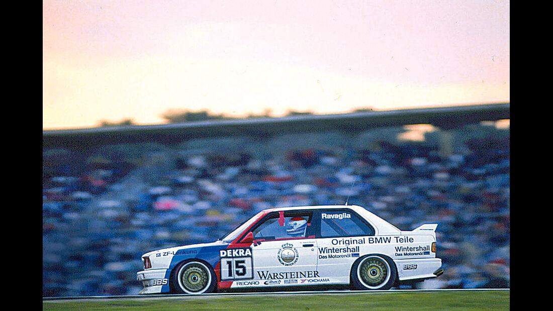 DTM BMW M3, Seitenansicht