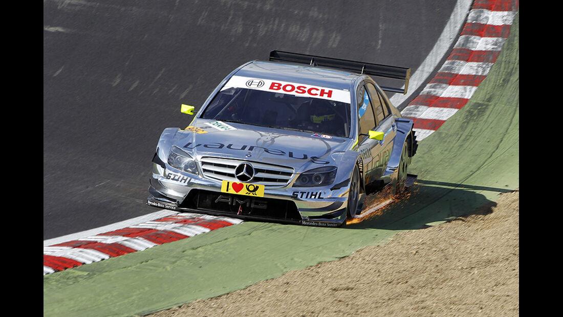 DTM, Brands Hatch, 2010, Mercedes C-Klasse, Schumacher