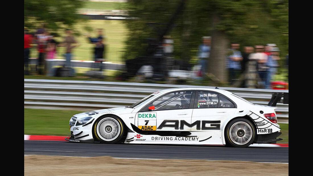 DTM, Brands Hatch, 2010, Mercedes C-Klasse, di Resta