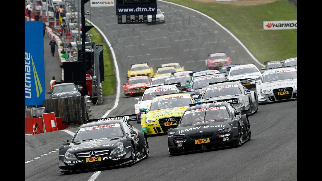 DTM Brands Hatch 2012, Rennen