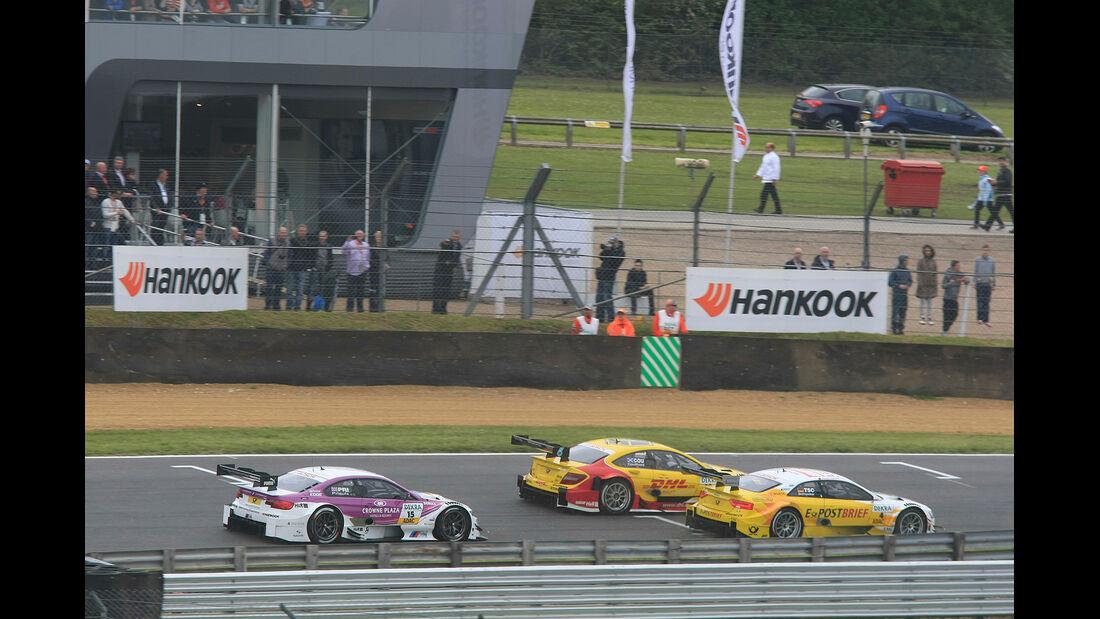 DTM Brands Hatch 2012, Rennen, David Coulthard, Mercedes AMG C-Coupé