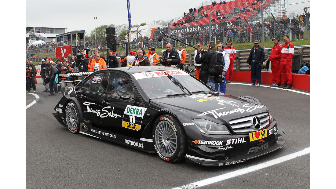 DTM Brands Hatch 2012, Rennen, Jenson Button