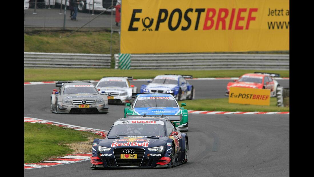 DTM Brands Hatch 2012, Rennen, Mattias Ekström, Audi A5 DTM