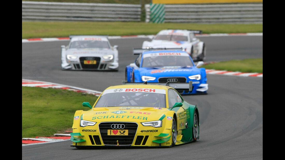 DTM Brands Hatch 2012, Rennen, Mike Rockenfeller, Audi A5 DTM