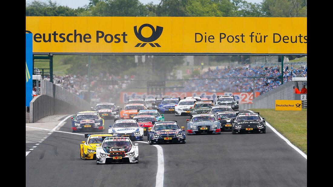 DTM Budapest 2014, Rennen, Marco Wittman
