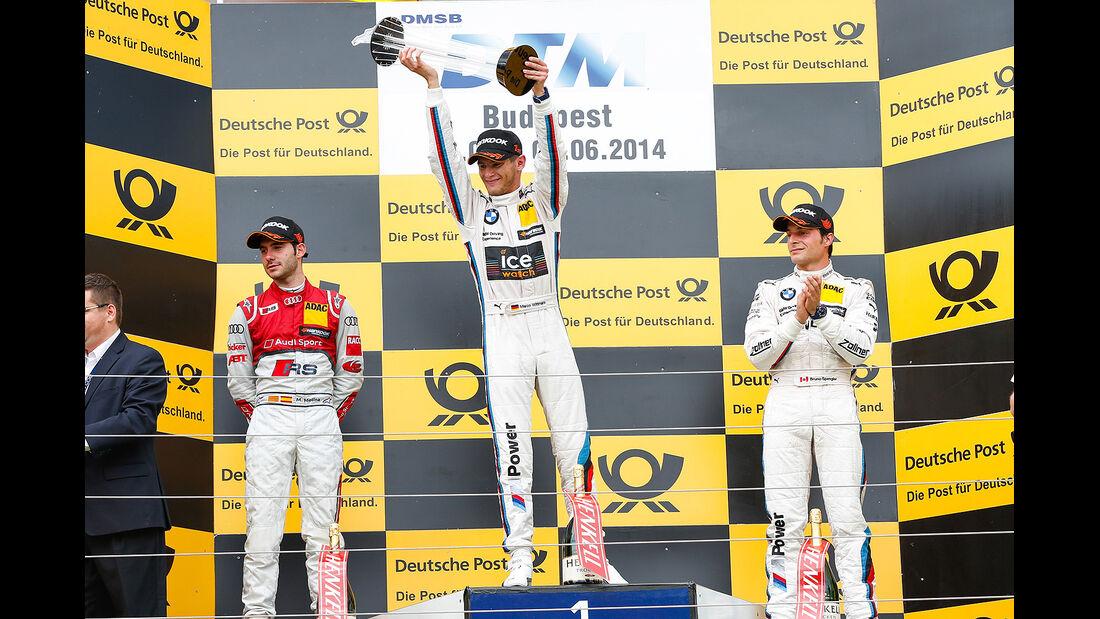 DTM Budapest 2014, Rennen, Marco Wittmann
