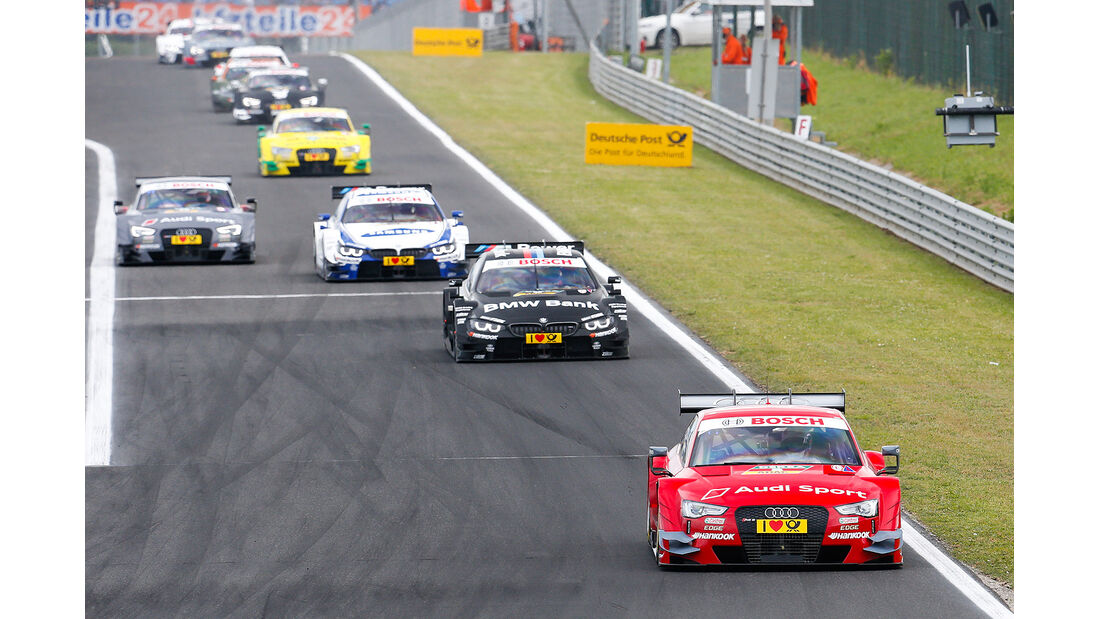 DTM Budapest 2014, Rennen, Miguel Molina