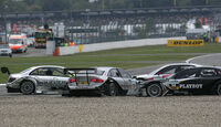 DTM Hockenheim Crash