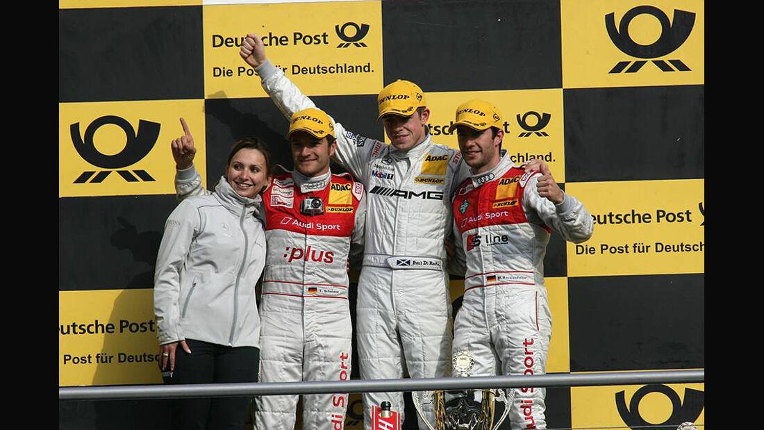 DTM Hockenheim Siegerehrung