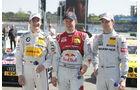 DTM Hockenheimring 2012, Qualifying, Mattias Ekström, Jamie Green, Dirk Werner