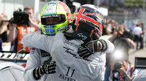 DTM Hockenheimring 2012, Rennen, Gary Paffett, Jamie Green