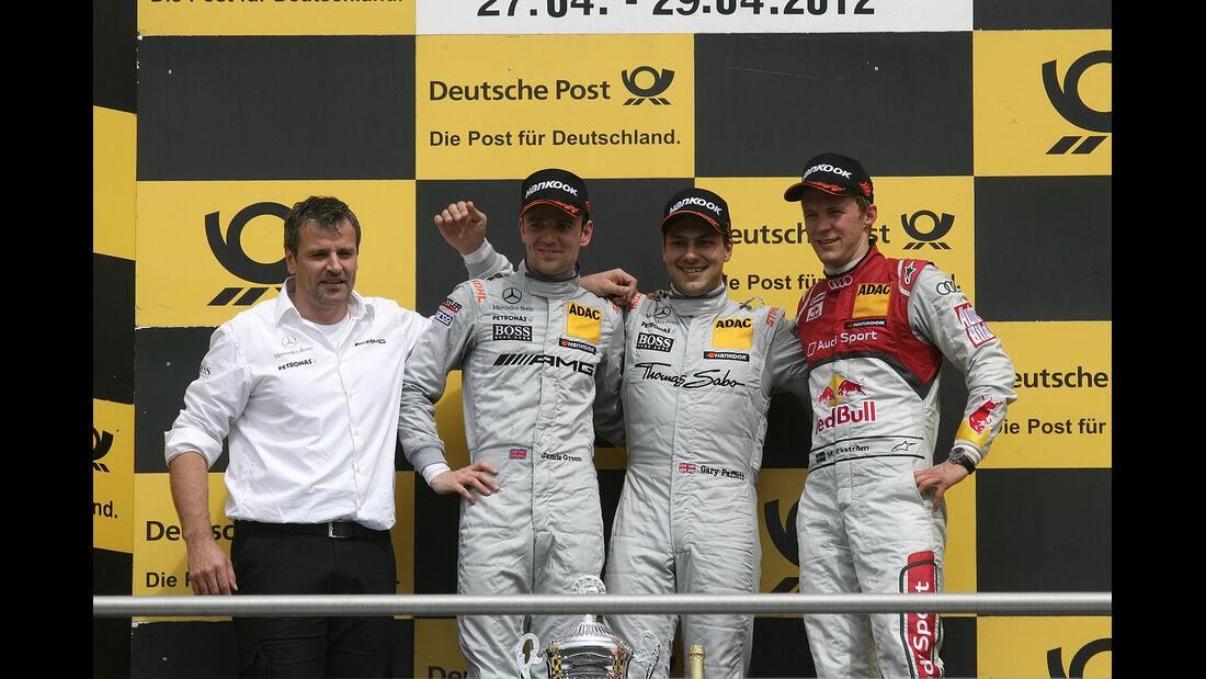 DTM Hockenheimring 2012, Rennen, Jamie Green, Gary Paffett, Mattias Ekström