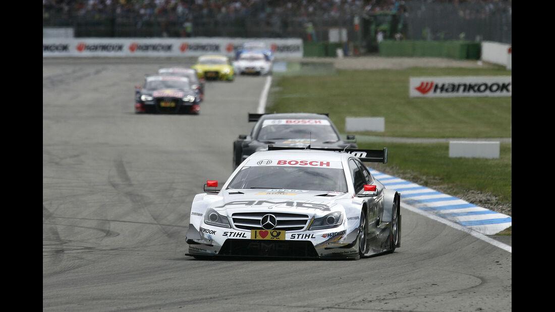 DTM Hockenheimring 2012, Rennen, Jamie Green, Mercedes AMG C-Coupé