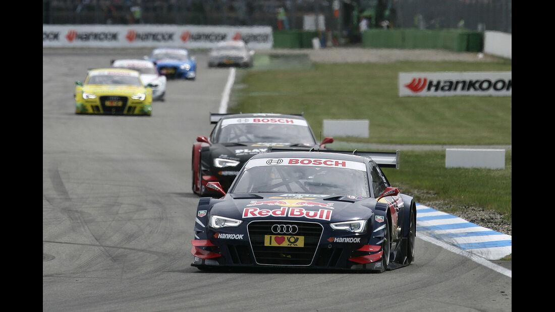DTM Hockenheimring 2012, Rennen, Mattias Ekström, Audi A5 DTM