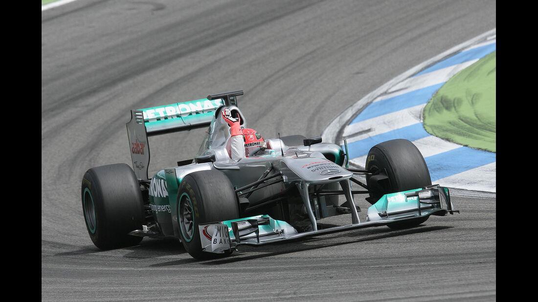 DTM Hockenheimring 2012, Rennen, Michael Schumacher