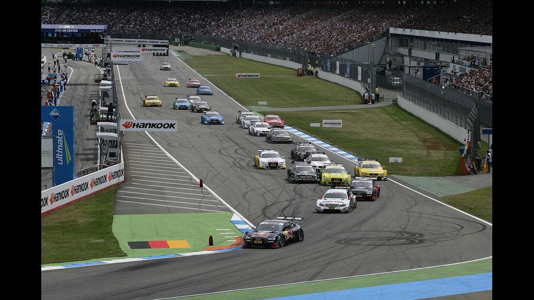 DTM Hockenheimring 2012, Rennen, Start