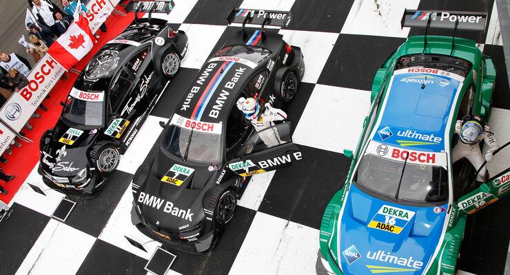 DTM Lausitzing 2012 Parc Ferme
