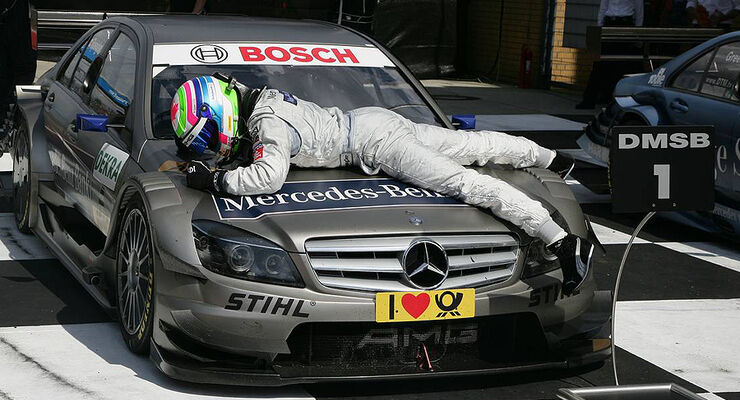 DTM Lausitzring 2010 Bruno Spengler Mercedes C-Klasse