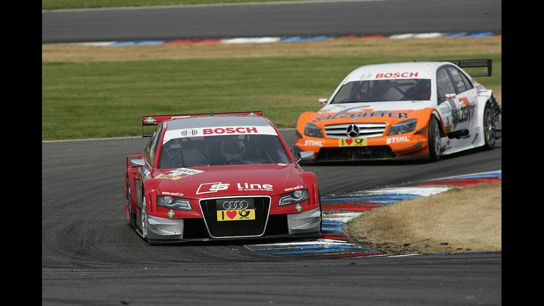 DTM Lausitzring 2010 Mike Rockenfeller Gary Paffett
