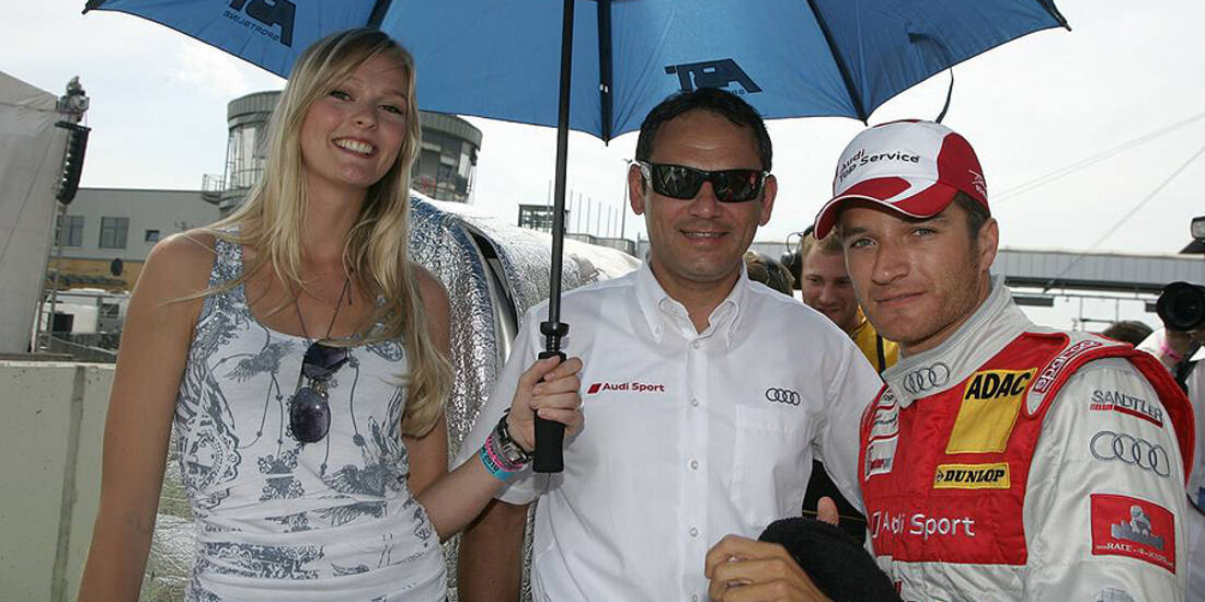 DTM Lausitzring 2010 Timo Scheider Hans-Jürgen Abt