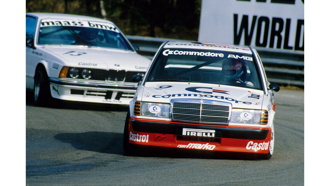 DTM - Mercedes - 1986