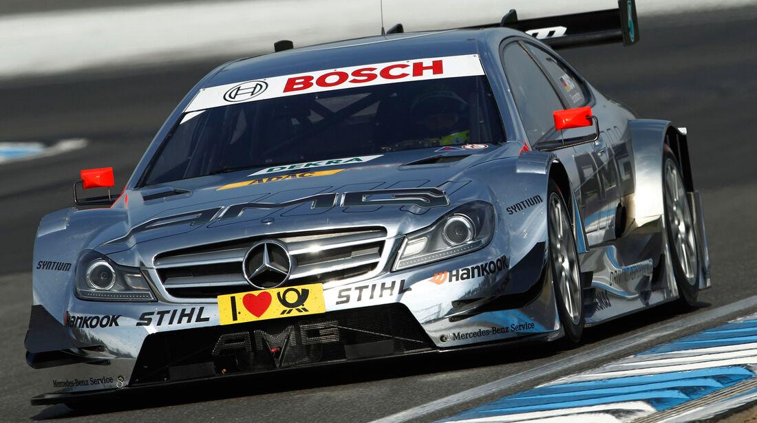 DTM Mercedes HWA 2012 C-Klasse Coupé