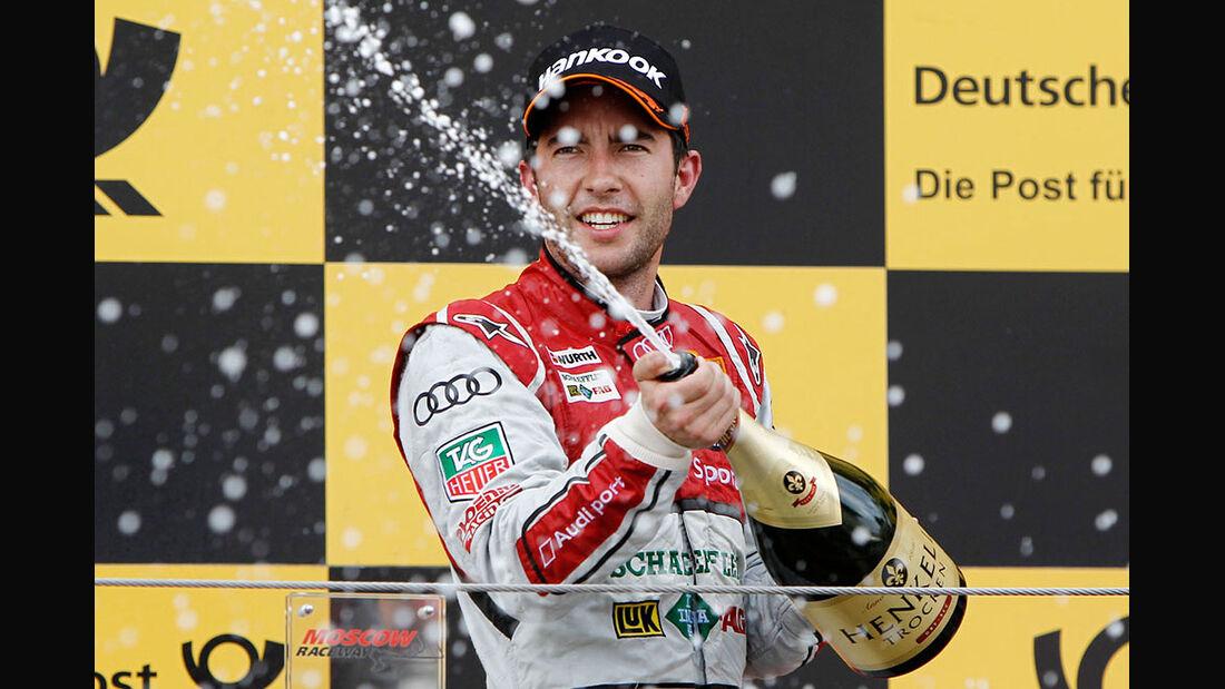 DTM Moskau 2013 Rennen Sieger Mike Rockenfeller