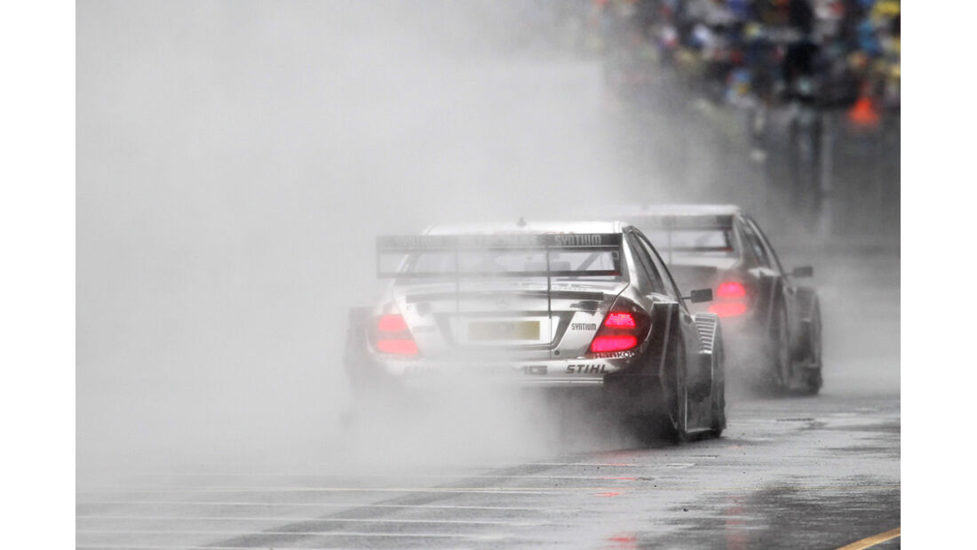 DTM Norisring 2011 Regen