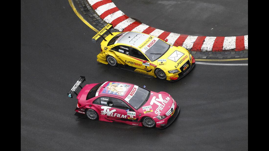 DTM Norisring 2011 Rockenfeller Stoddart