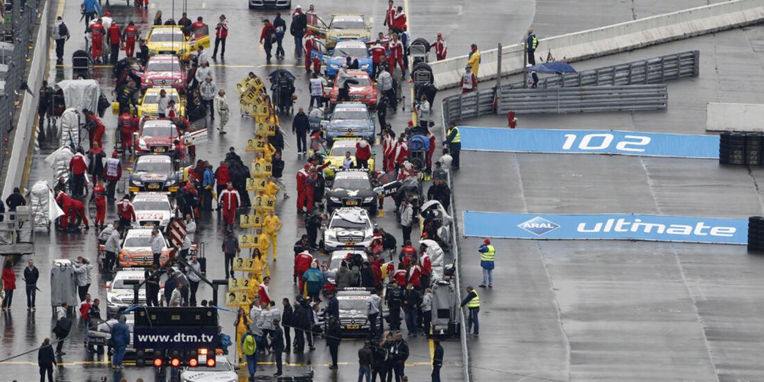 DTM Norisring 2011 Startaufstellung