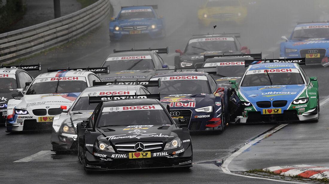 DTM Norisring 2012 Rennen, Start, Gary Paffett