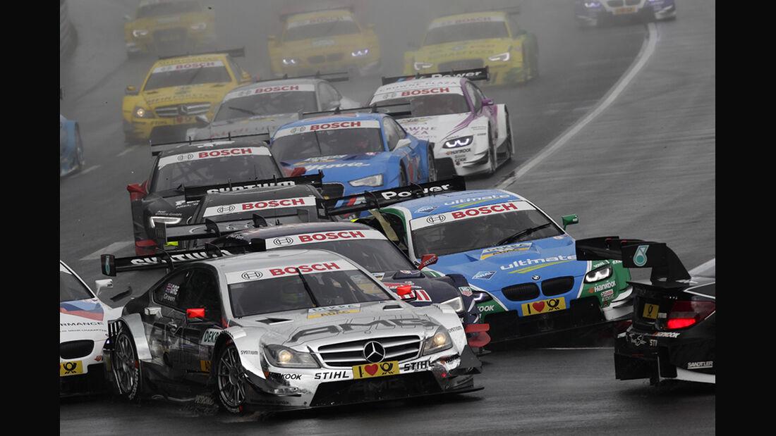 DTM Norisring 2012 Rennen, Start, Jamie Green