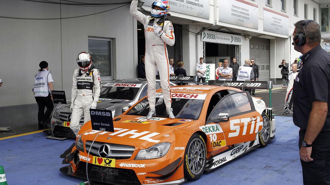 DTM Nürburgring 2013, Rennen