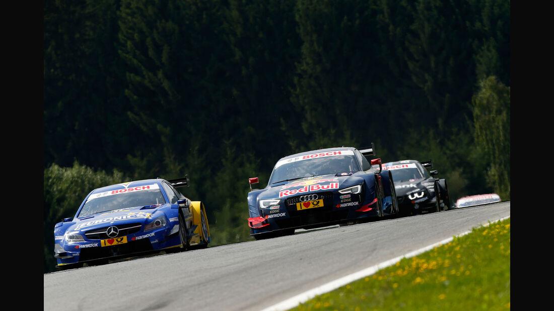 DTM - Österreich 2014 - Spielberg - Red Bull Ring - Ekström - Paffett - Spengler