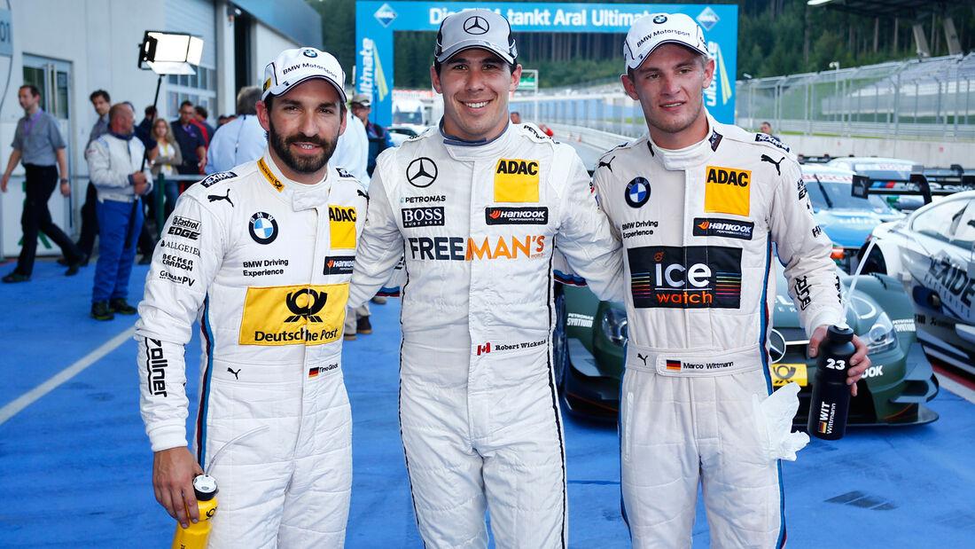 DTM - Österreich 2014 - Spielberg - Red Bull Ring - Qualifying - Robert Wickens - Timo Glock - Marco Wittmann