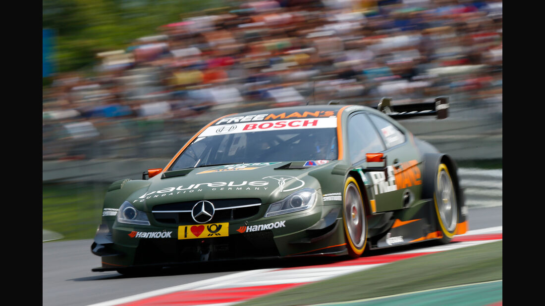 DTM - Österreich 2014 - Spielberg - Red Bull Ring - Robert Wickens - Mercedes