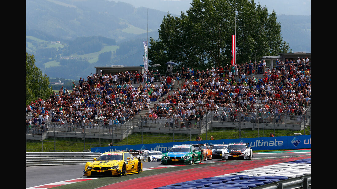 DTM - Österreich 2014 - Spielberg - Red Bull Ring - Start - Erste Kurve