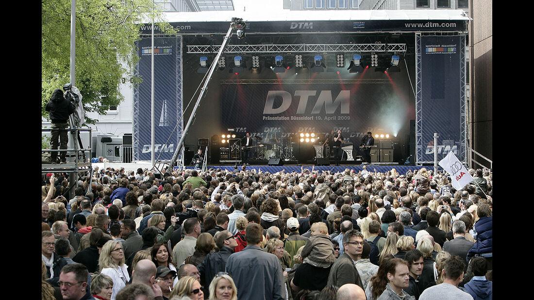 DTM Präsentation Düsseldorf 2009
