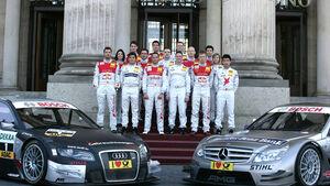 DTM-Saison 2010 Gruppenbild