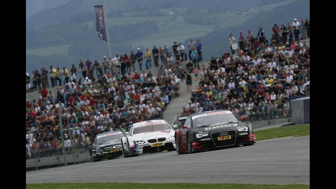 DTM Spielberg 2012 Rennen, Edoardo Mortara, Martin Tomczyk
