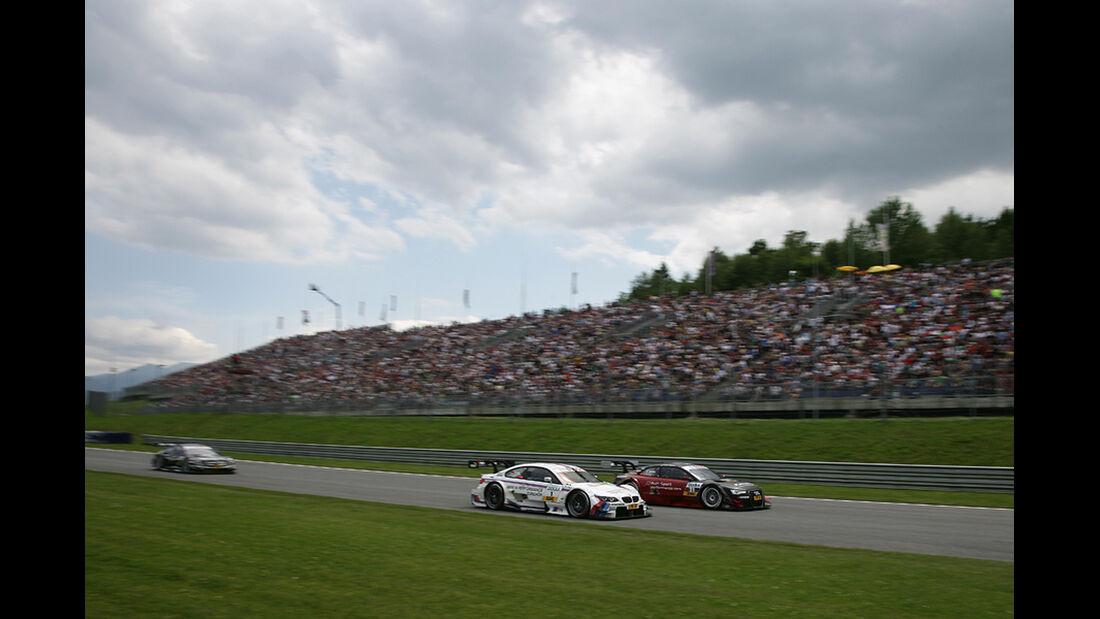 DTM Spielberg 2012 Rennen, Martin Tomczyk, Edoardo Mortara
