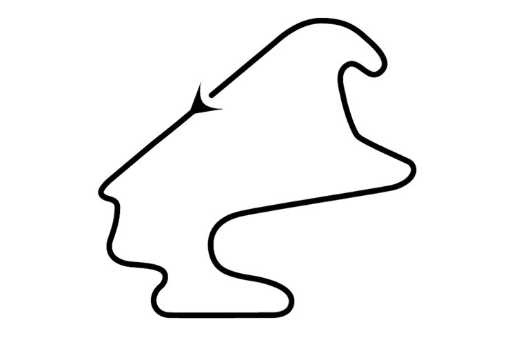 DTM- Strecke von Lausitz