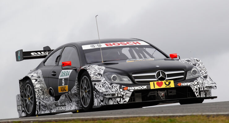 DTM Test 2014 - Mercedes C-Coupé