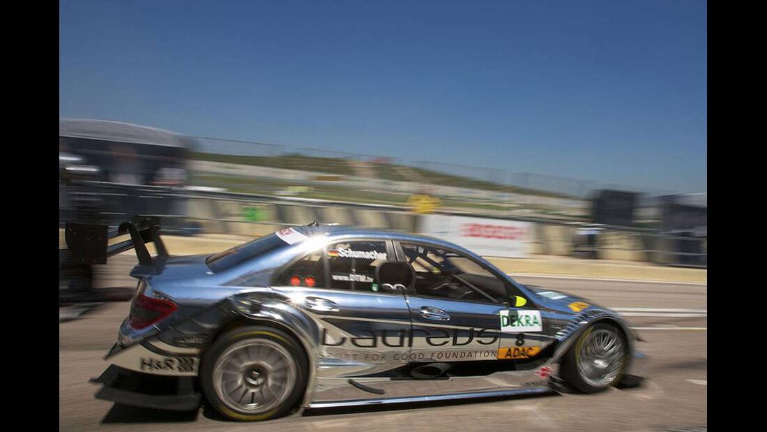 DTM Valencia 2010 Mercedes C-Klasse Ralf Schumacher