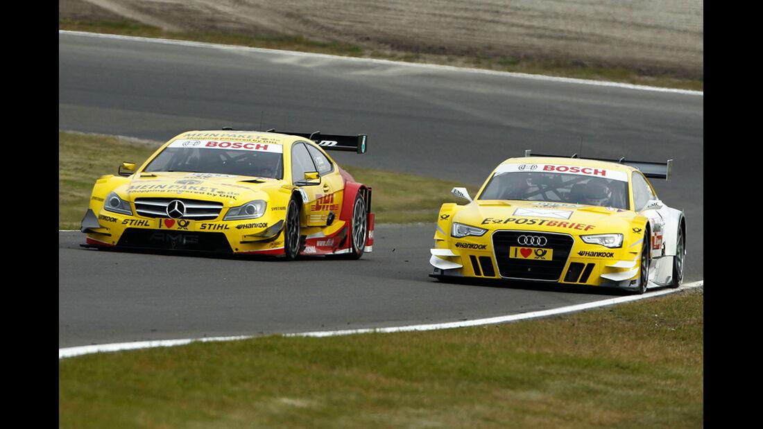 DTM Zandvoort 2012 Qualifying, David Coulthard, Rahel Frey