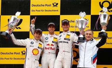 Da Costa - Farfus - Spengler - DTM - Zandvoort - 2. Rennen - Sonntag - 12.7.2015