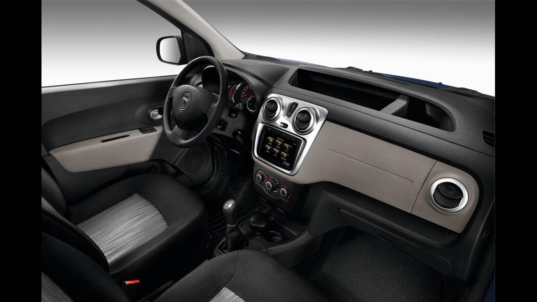 Dacia Dokker, Cockpit