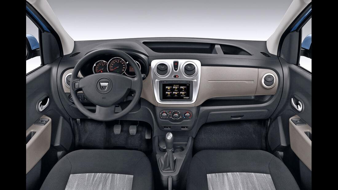 Dacia Dokker, Cockpit, Lenkrad