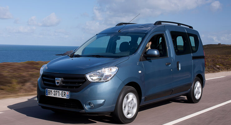 Dacia Dokker, Frontansicht