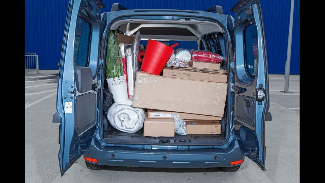 Dacia Dokker, Kofferraum